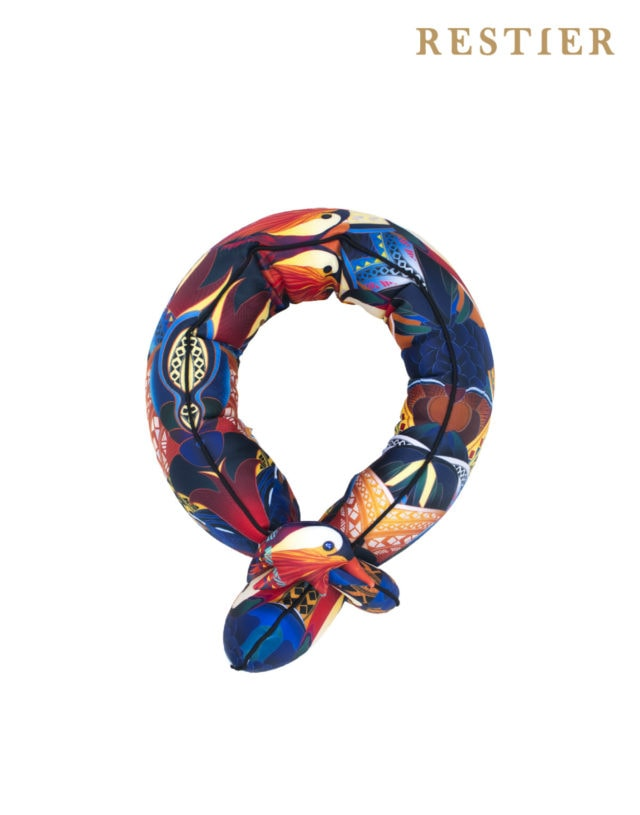 Scarf Pillow Mandarin duck
