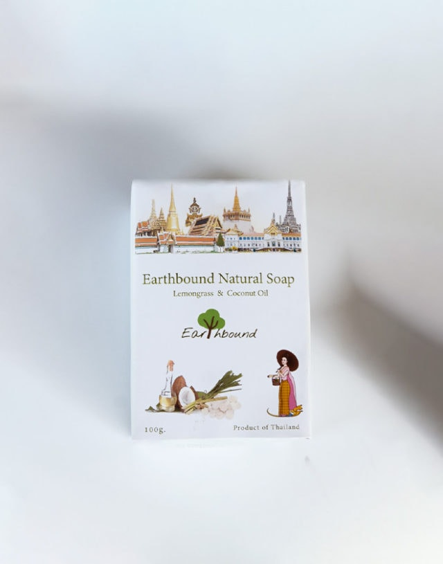Earthbound Lemongrass Coconut Oil Soap