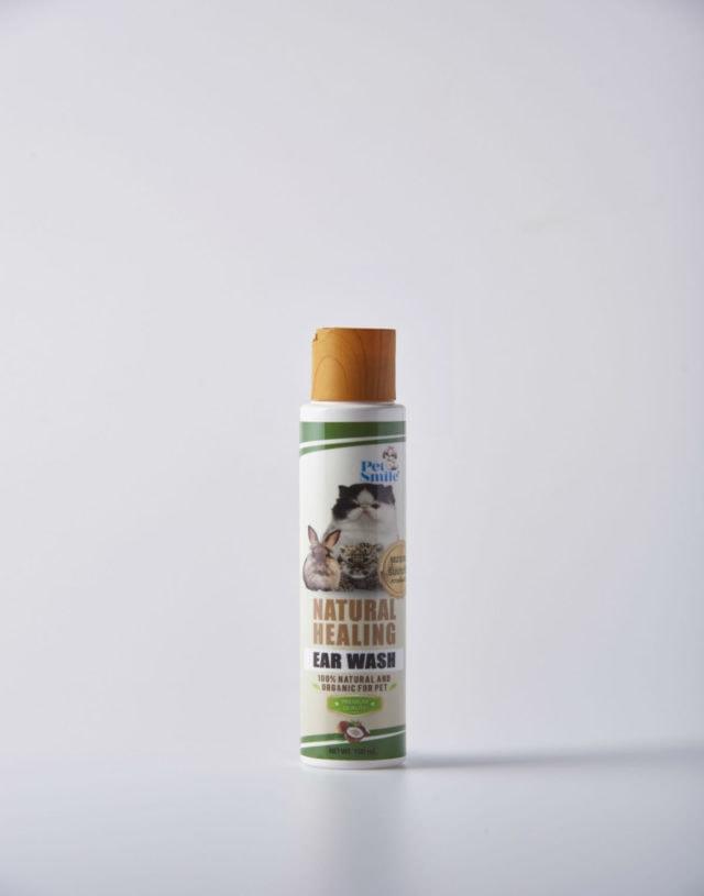 Pet Smile Natural Healing Ear Wash for Cat