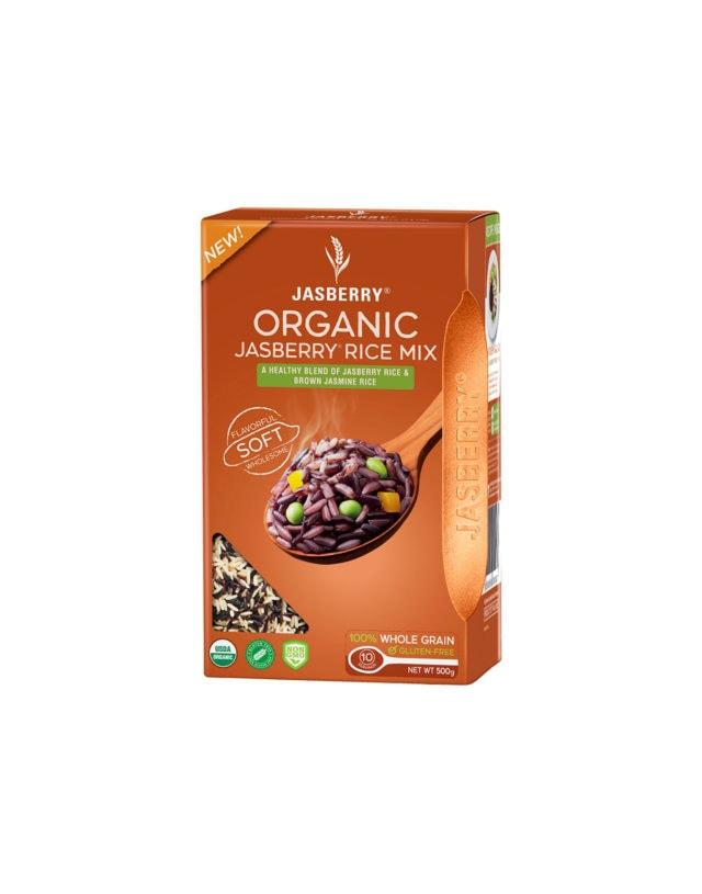 Organic jasberry rice mix 500 g
