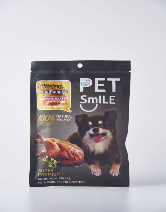 Pet Smile Chicken and Pumpkin
