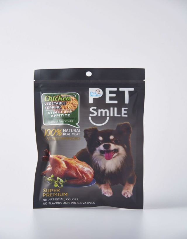 Pet Smile Chicken Vegetable Topping for Dog