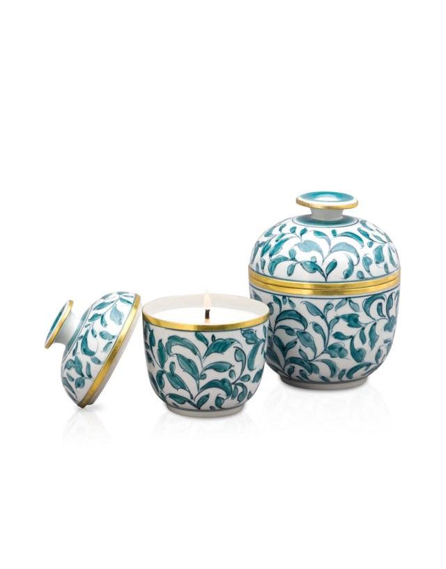 Ceramic Candle Thai Growth