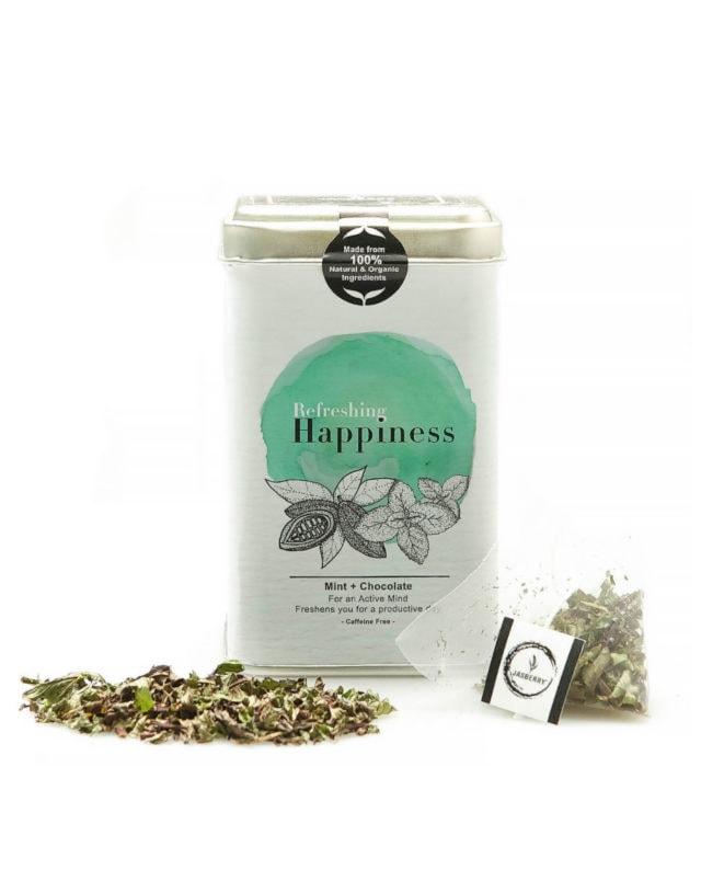 Jasberry tea refreshing happiness