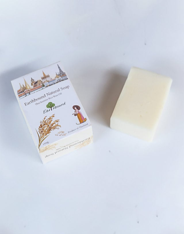 Earthbound Jasmine Rice Milk Soap