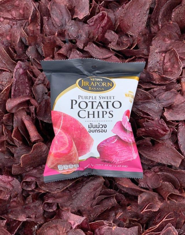 Purple sweet potato chip 80 g