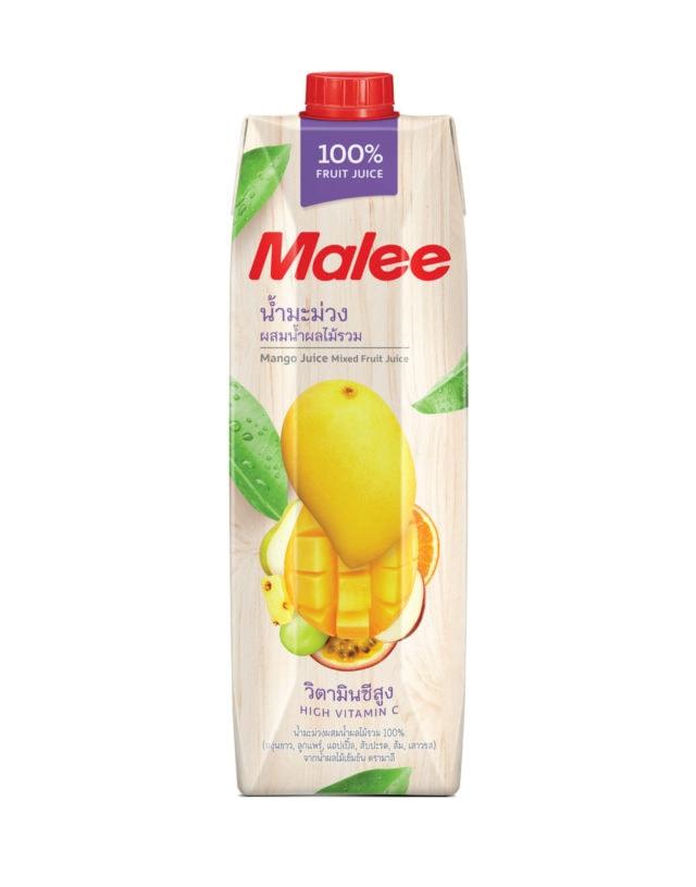 Malee 100% Mango Juice with Mixed Fruit Juice