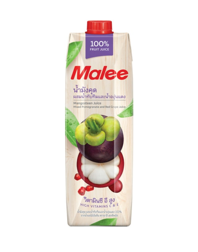 Malee 100% Mangosteen Juice with Mixed Fruit Juice