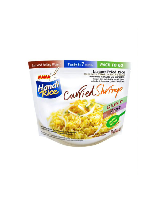 Instant Fried Rice Curried Shrimp Flavor