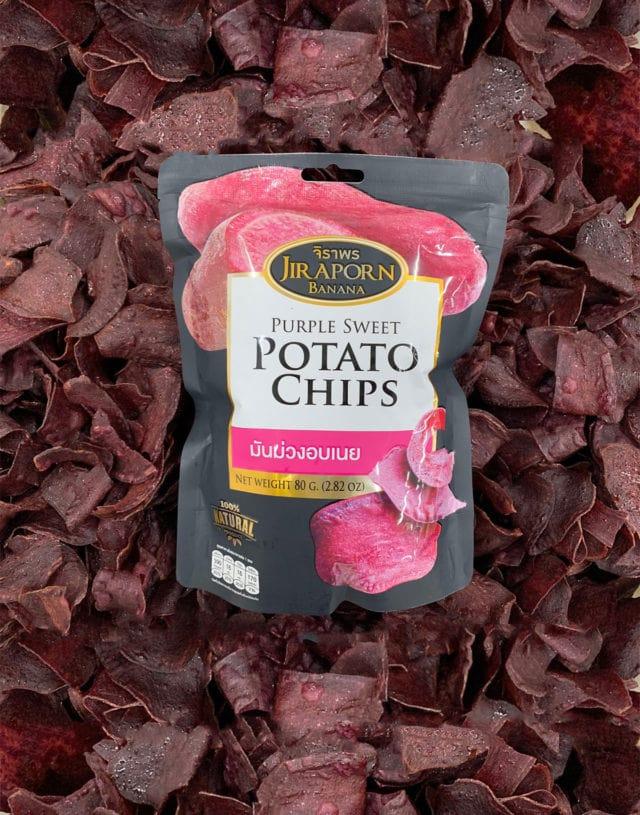 Purple sweet potato chip 35 g