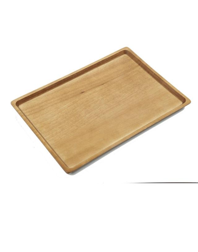 Acacia & Rubber Wooden Tray