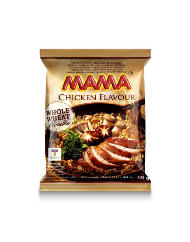 Instant Whole Wheat Noodles Chicken Flavor
