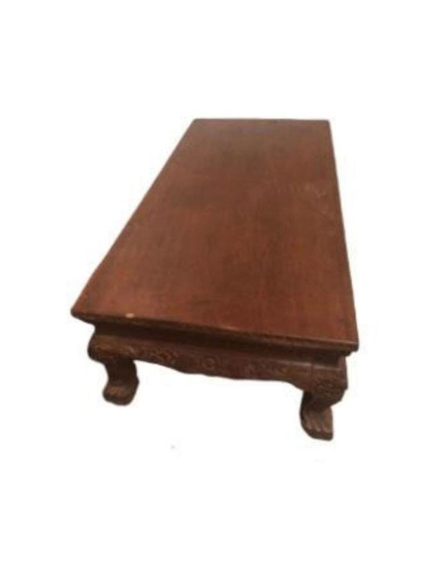 Teak Carving Table