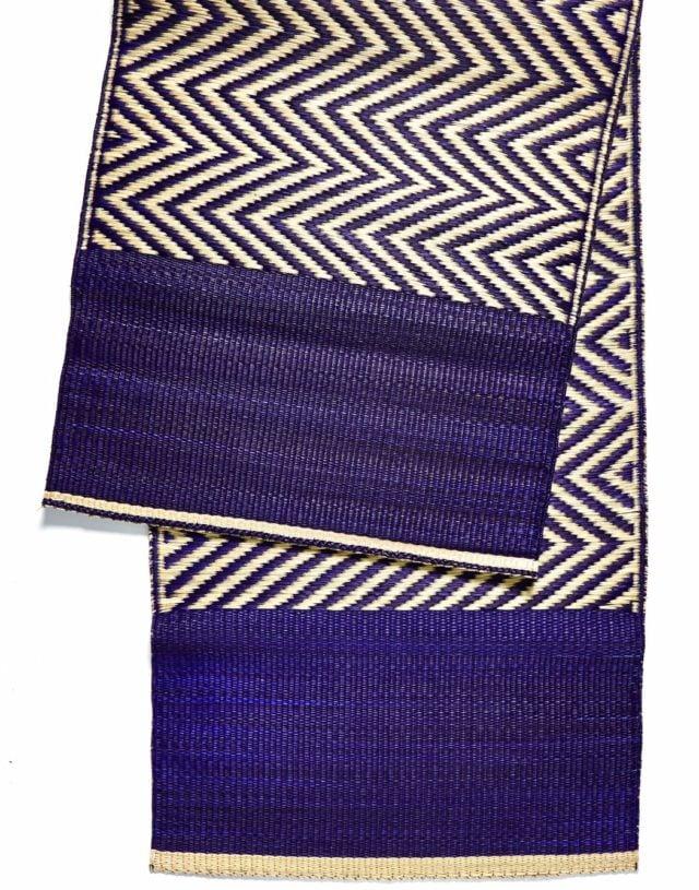 Combined mat Blue