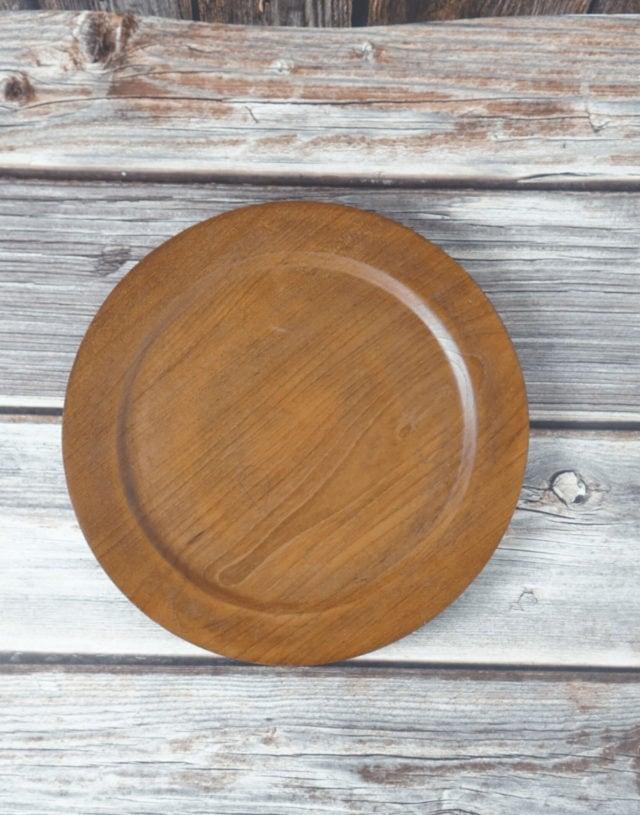 Teak Wooden Plate