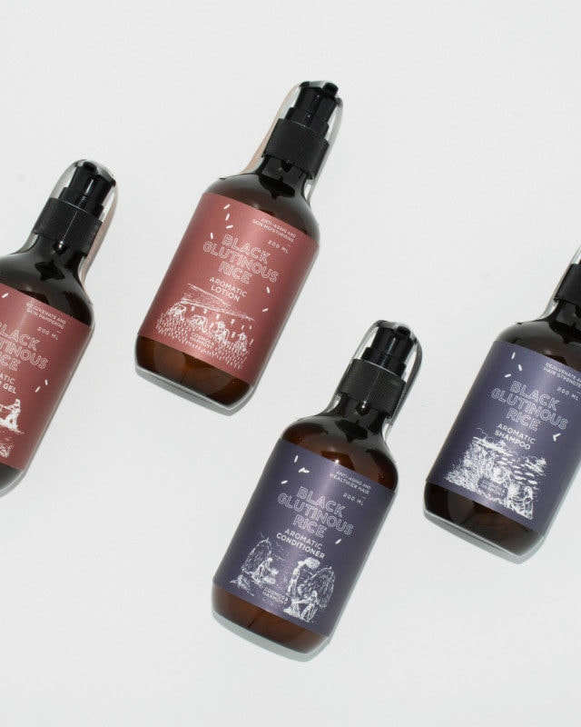 Black Glutinous Rice Aromatic Shampoo - 200 ml
