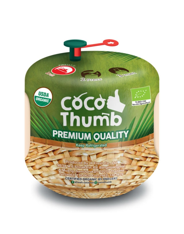 Coco Thumb, 100% Nam Hom Coconut