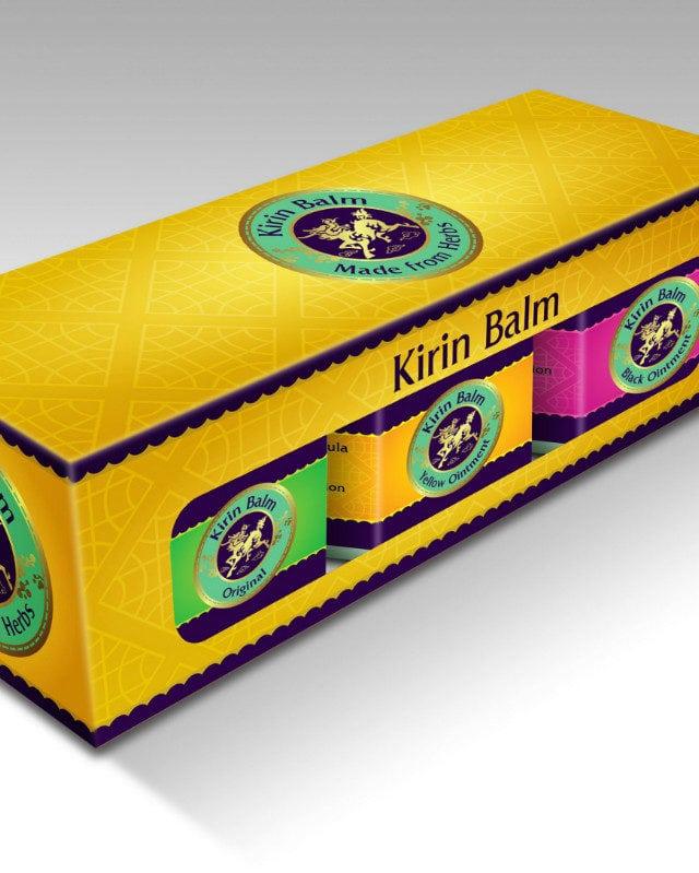 Kirin Balm - 3 formulas set