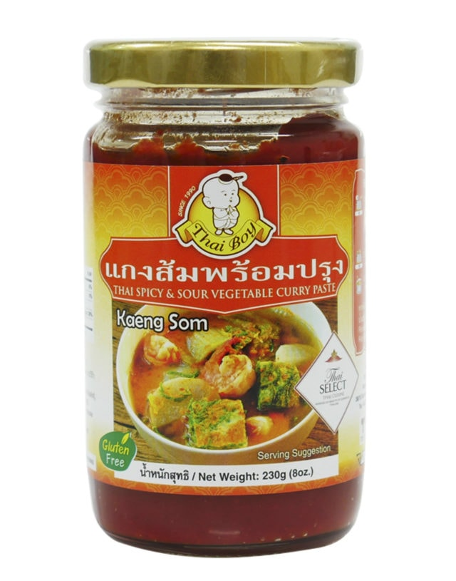 Thai Spicy & Sour Vegetable Curry Paste 230 g