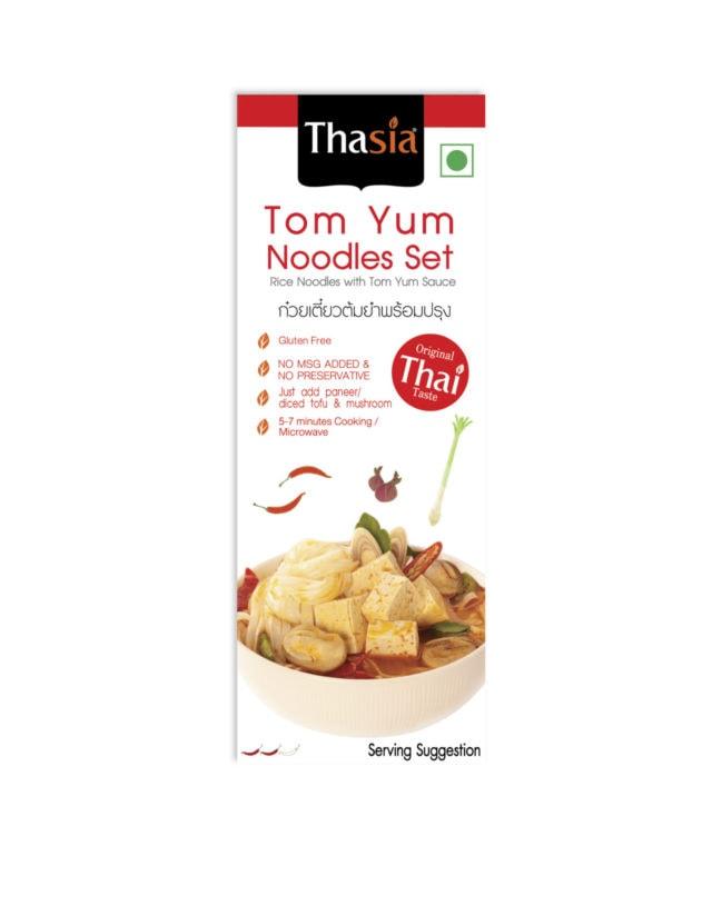 Tom Ym Noodles Set