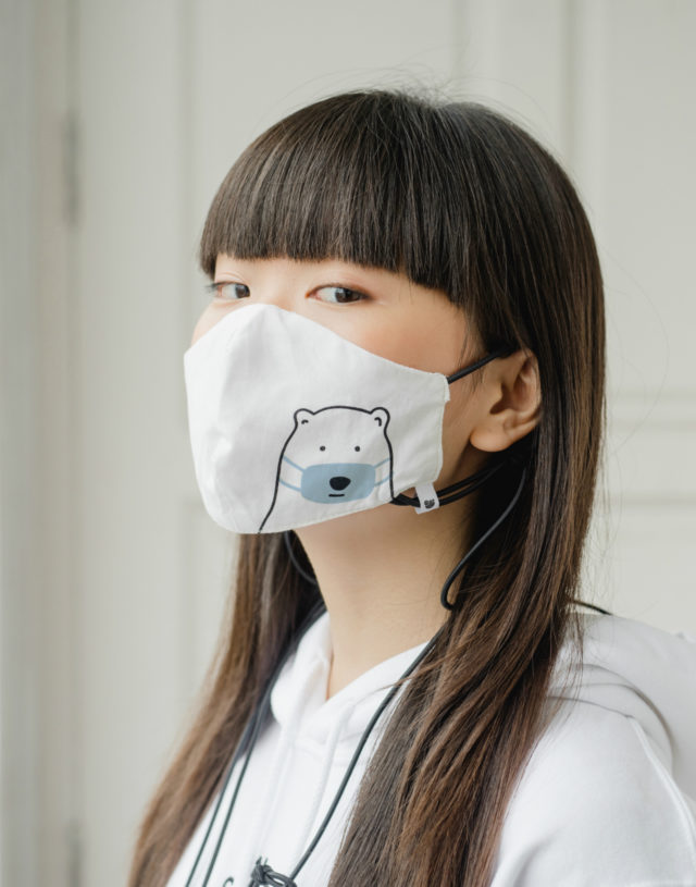 Have a safe day, Fabric Mask