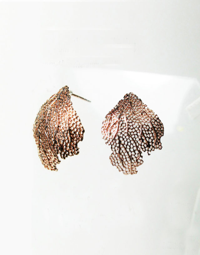 From the sea Silver Earrings