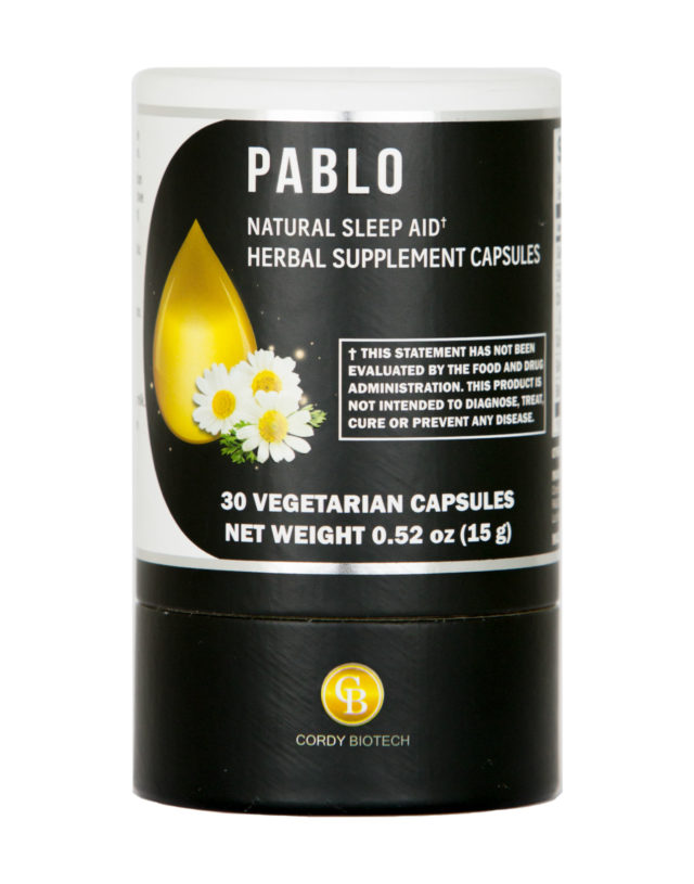 PABLO NATURAL SLEEP AID EXTRACTS SUPPLEMENT