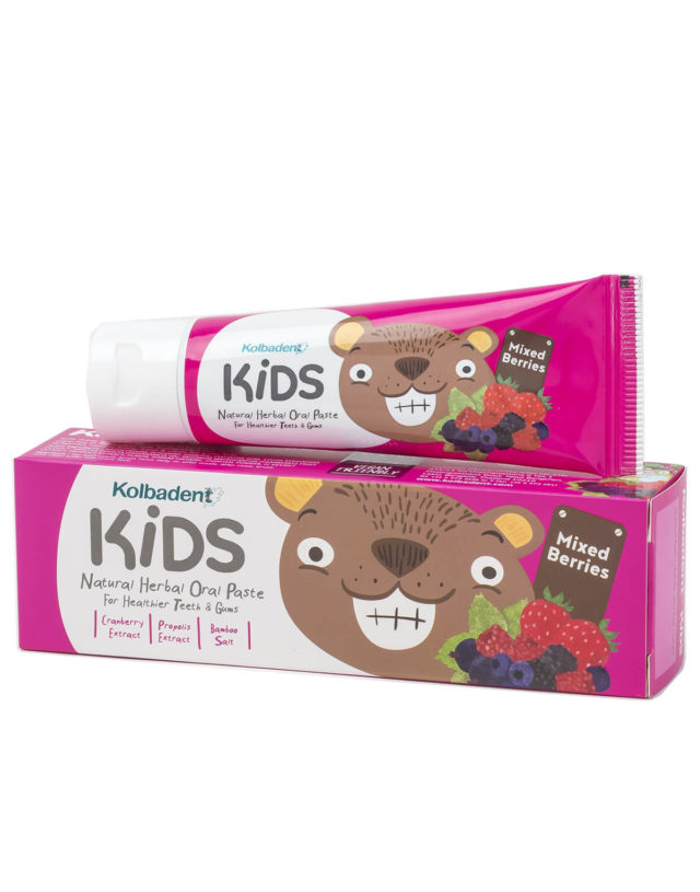 Kolbadent Kids Natural Extraxct Toothpaste (Mixed Berries)