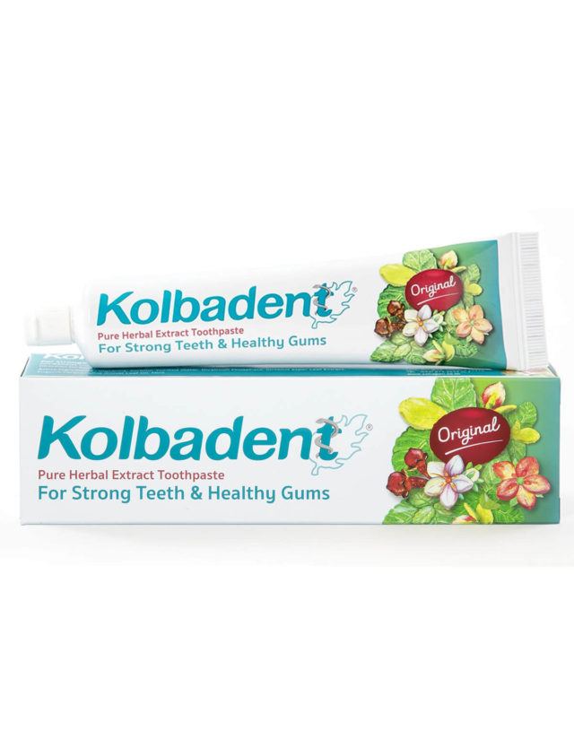 Kolbadent Pure Herbal Extract Toothpaste (Original)