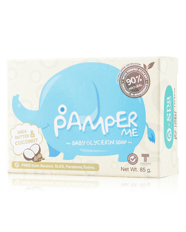 Pamper Me Baby Soap - Shea Butter & Coconut