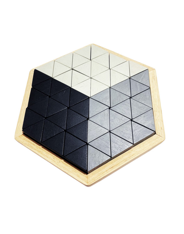 A184059 3D-LIKE WOODEN PUZZLE