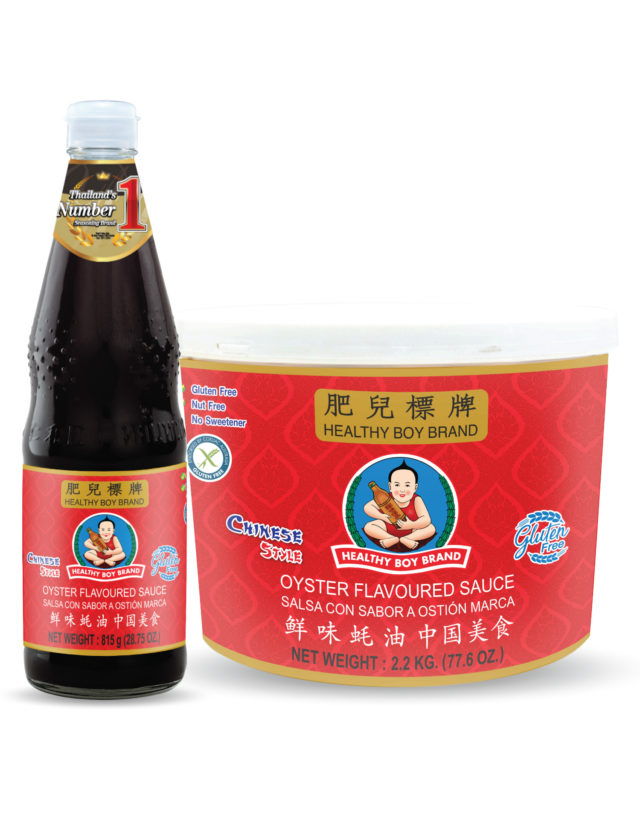 Oyster Flavoured Sauce Chinese Style