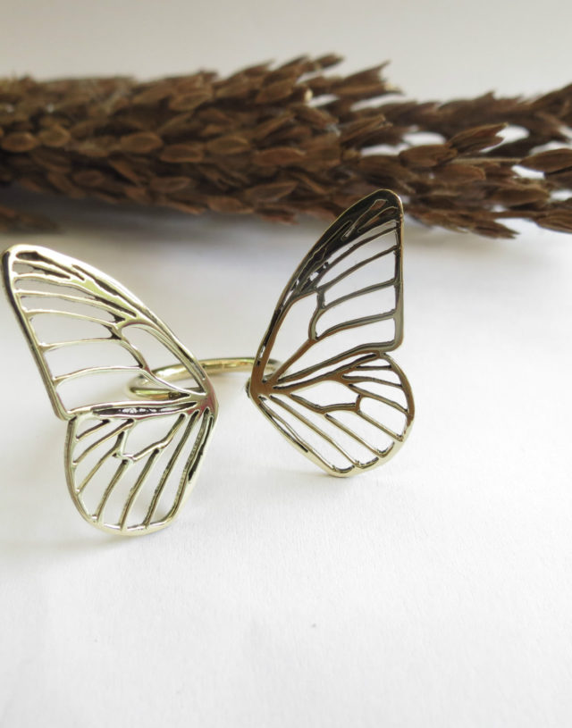 Wing butterfly Ring