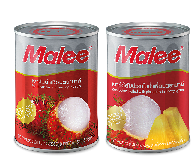 Malee Canned Fruit